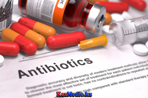 антибиотиктер қазақша